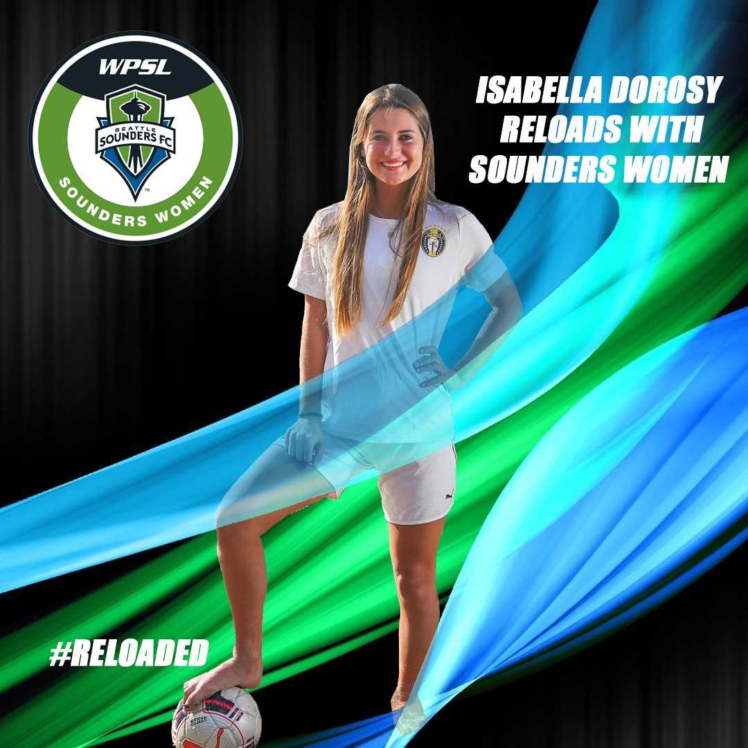Isabella Dorosy reloads with Sounders Women