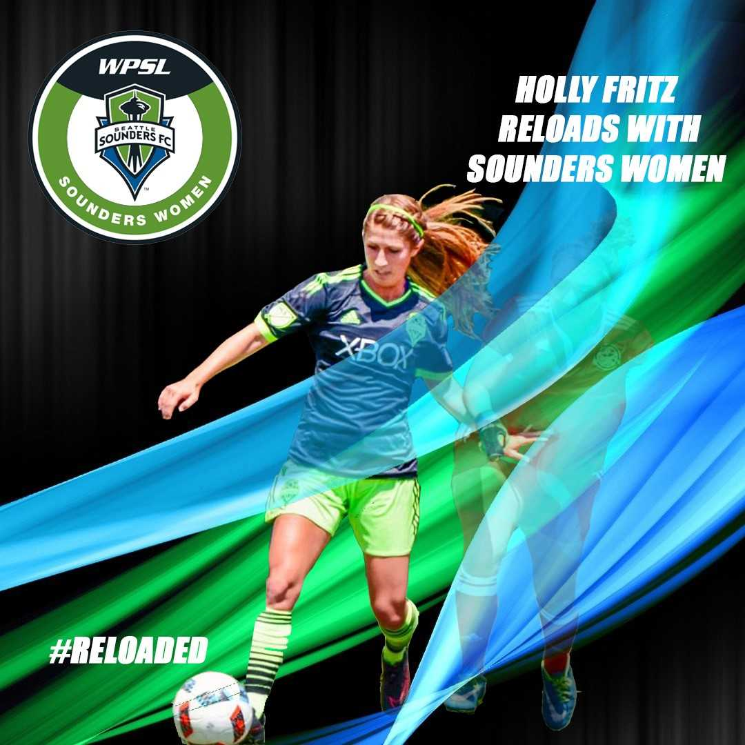 Holly Fritz reloads with Sounders Women