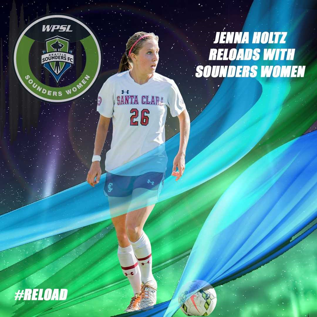 Jenna Holtz reloads with Sounders Women
